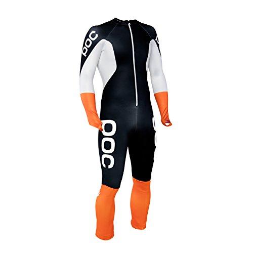 POC - Skin GS Racing Suit, Uranium Black/Hydrogen White, LRG