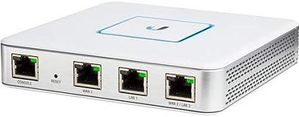 Ubiquiti Us 24 250w Netzwerk Router Usg Netzwerk Router 3 Gigabit Ethernet Ports Unifi Controller Gewerbe Industrie Wissenschaft