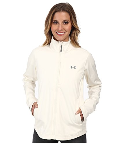 Under Armour Flyweight Softershell Jacket - Women's Ivory/Graphite Small
