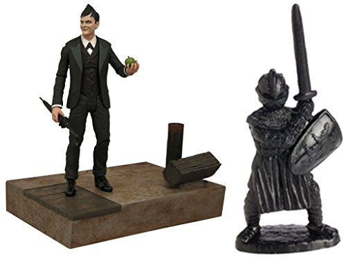 [Action Figures Toys Gotham Select: Oswald Cobblepot & Free Guardian Knights Action Figure Set 36-Piece, Colors may vary] (Assassins Creed Costume For Kids At Party City)