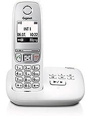 Gigaset A415A - Schnurlostelefon mit Anrufbeantworter - einfaches DECT-Telefon mit Freisprechfunktion, Grafik Display und leichter Bedienung - schwarz