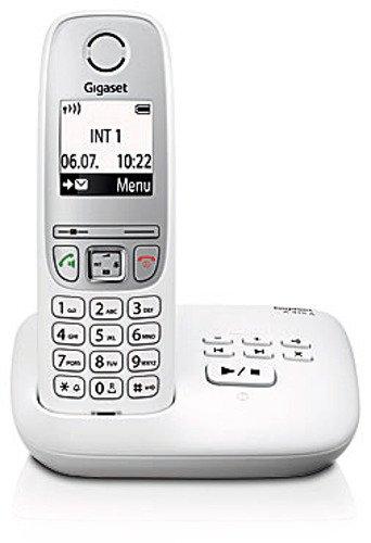 Gigaset A415A Dect-Schnurlostelefon mit Anrufbeantworter, weiß