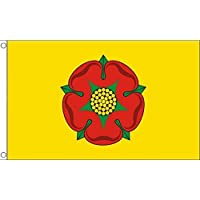 Lancashire New County Flag 2' x 3' - County of Lancashire - England Flags 60 x 90 cm - Banner 2x3 ft - AZ FLAG