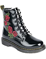 Up North Canada Black Gasel Women Fashion Winter Boot Thick Faux Fur 1000g, 50% Wool lining Side Zipper and Laces Grip Sole Comfortable Soft insole Water Resistant