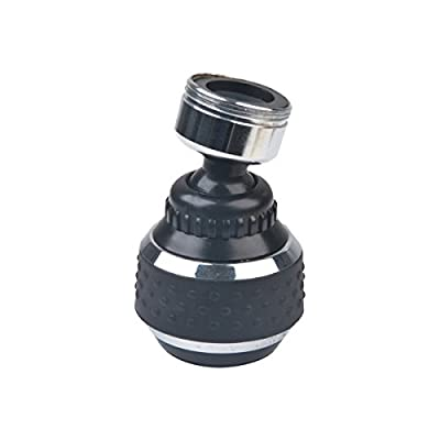 BrassCraft SF0279X Dual Thread Double Swivel Spray Faucet Aerator with 15/16-Inch-27 Male and 55/64-Inch-27 Female Thread