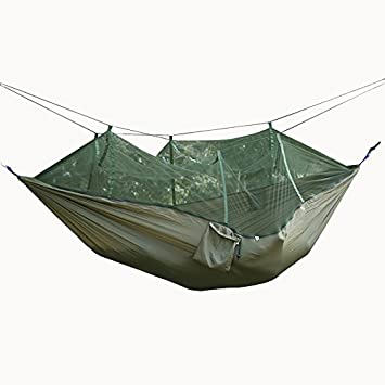 Teetox C&ing Hammock tent Professional Grade Ripstop Nylon Strength with Bug Net for Backpacking Hiking & Teetox Camping Hammock tent Professional Grade Ripstop Nylon ...