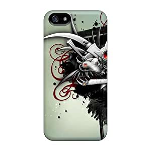 Awesome PwFvmUq4788IKlST MeSusges Defender Tpu Hard Case Cover For Iphone 5/5s- Abstract Fantasy Art Digital Art