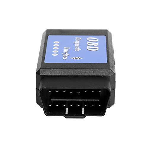 authentic obd2 bluetooth adapter foseal obd ii scanner car. Black Bedroom Furniture Sets. Home Design Ideas