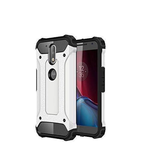 Funda Moto G4 Plus, SsHhUu 2 in1 TPU + PC Doble Capa Protección A ...