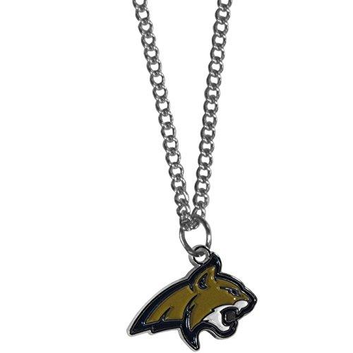 (Siskiyou NCAA Montana State Bobcats Women's Charm Chain Necklace, 22
