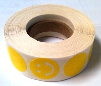 Smiley Face Tanning Stickers 1000 ct from Smiley Face