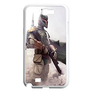 [Tony-Wilson Phone Case] For Samsung Galaxy Note 2 -IKAI0446949-Star Wars Movies Series Pattern