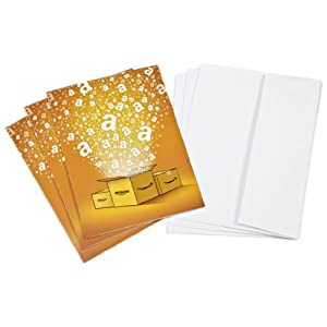 Best Epic Trends 41oho4kAChL._SS300_ Amazon.com $10 Gift Cards, Pack of 3 with Greeting Cards (Amazon Surprise Box Design)
