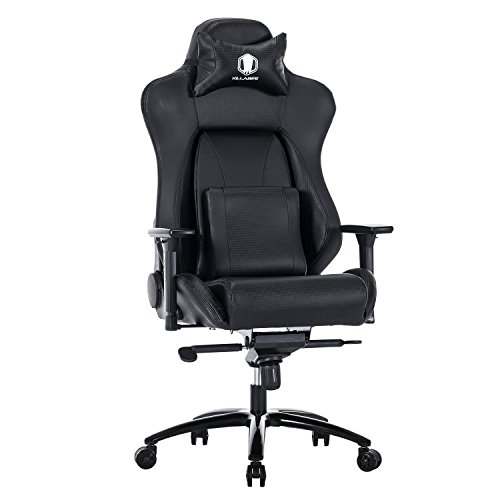 Killabee Big And Tall 400lb Memory Foam Gaming Chair 90