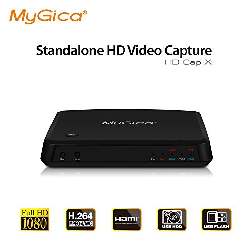 Mygica HD Video Standalone Capture Recorders With Ypbpr CVBS HDMI Input Analog Video To Digital Converter