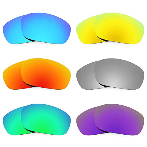 Revant Replacement Lenses for Oakley Jawbone 6 Pair Combo Pack K027 by Revant
