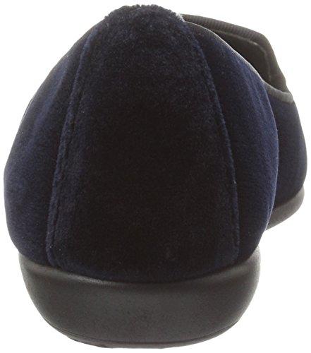 Love Aerosoles Betunia Women's Velvet Loafer Blue w4afvnq14