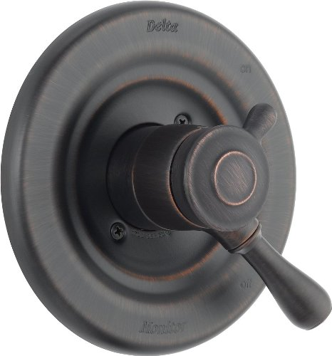 - Delta T17078-RB Leland Monitor 17 Series Valve Trim Only, Venetian Bronze