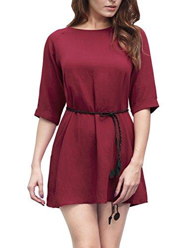 Buy belted linen dress - 1