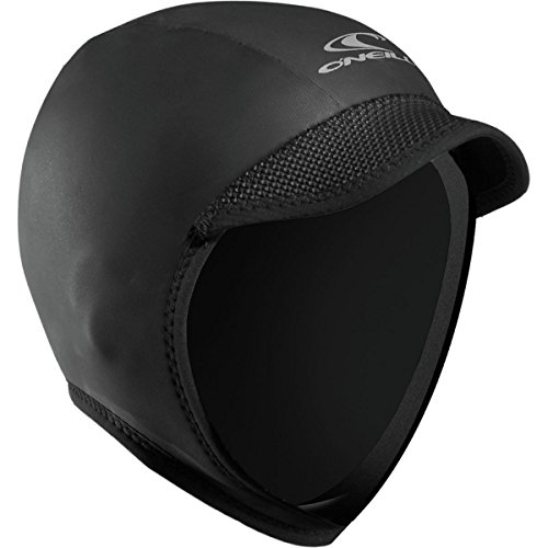 O'Neill Wetsuits Mens Squid Lid, Black, Small