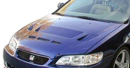 1998-2002 Honda Accord 2DR Duraflex Predator Hood - 1 Piece - Predator Fiberglass Hood