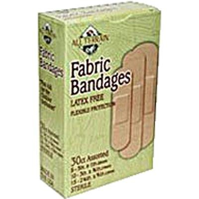 Assorted Fabric Bandages 30 CT - 6 pack by All Terrain