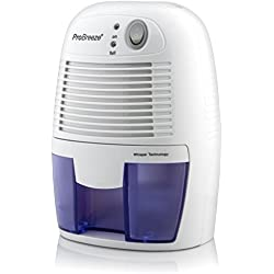 Pro Breeze Electric Mini Dehumidifier, 1200 Cubic Feet (150 sq ft), Compact and Portable for Damp Air, Mold, Moisture in Home, Kitchen, Bedroom, Basement, Caravan, Office, Garage