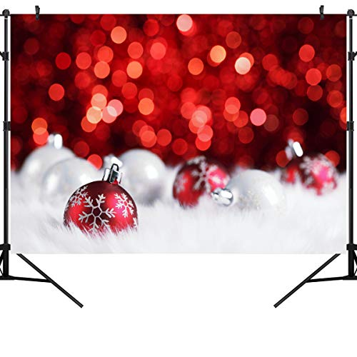 - Ouyida Christmas Theme Seamless 9' x 6' CP Pictorial Cloth Photography Background Computer-Printed Vinyl Backdrop GA26