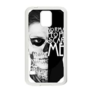 Artistic Fashion Unique White samsung galaxy s5 case