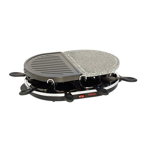 Tristar RA-2946 - Parrilla de piedra y gourmet en uno, para ocho personas: Amazon.es: Hogar
