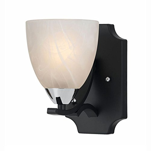 Lumenno Lighting 8004-00-01 Traditional 1-Light Wall Sconce,