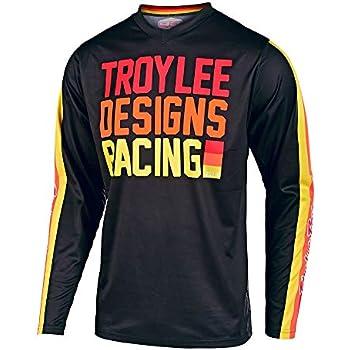 Black//Gray, Small Troy Lee Designs Adult Off Road Motocross GP Raceshop Jersey