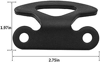 4Pcs//Pack Truck Bed Inner Black Tie Down Hooks Explorer Sport Trac for Ford