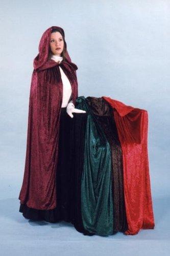 Velvet Cloak Costume Accessory ()