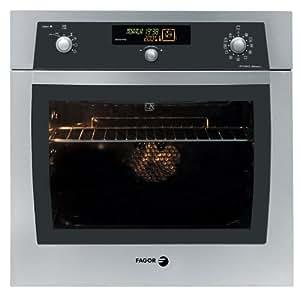 Fagor 5H-870 X Eléctrico 55L Plata - Horno (Electric oven, 55 L, 35/275, Plata, Botones, 3400 W)