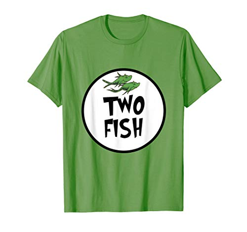 Cute Rhyming Two Fish T-shirt | Group Matching Costume ()
