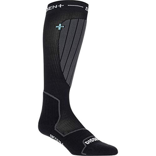 Dissent Ski GFX Compression Hybrid DLX-Wool Sock One Color, S by Dissent (Image #2)