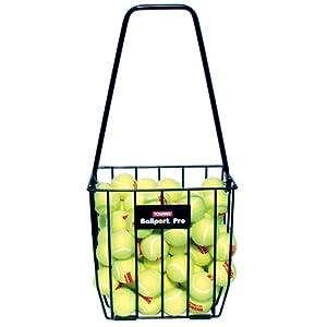 סל נשיאה בעל קיבולת גדולה מחזיק עד 85 כדורי טניס רגילים