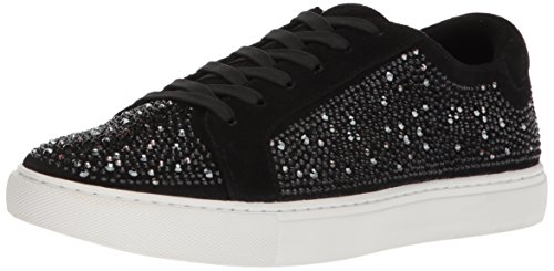 Swarovski Pumps (Kenneth Cole New York Women's Swarovski Crystal Studded Techni-Cole 37.5 Lining Sneaker, Black, 8 Medium US)