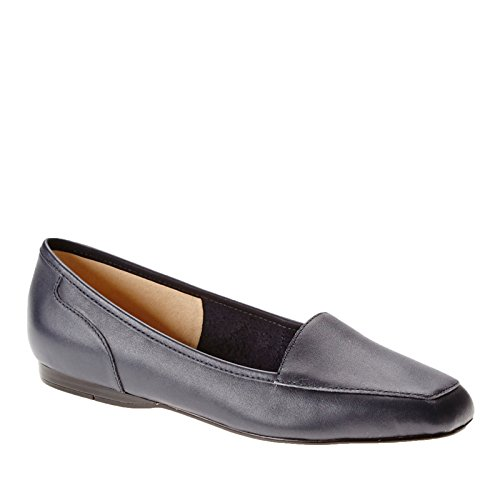 cheap Bandolino Women's Liberty Navy Leather Loafer free shipping