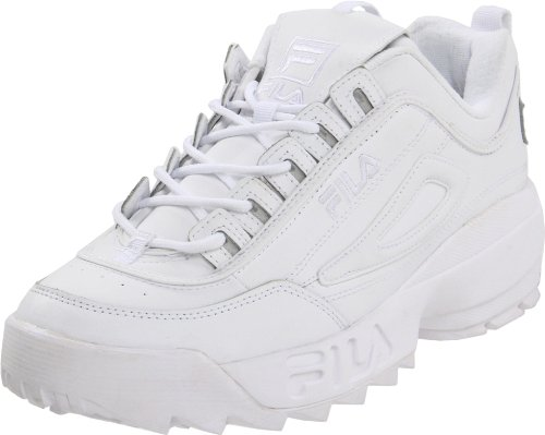 white Disruptor Fila Uomo Formatori White Leather white Ii fgH18q