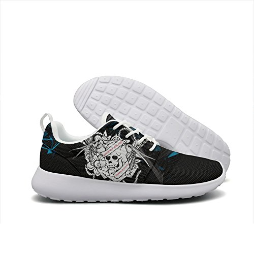 virgo cacophony of awe joy terror zodiac mens guys printing fashion running shoes unique Gift