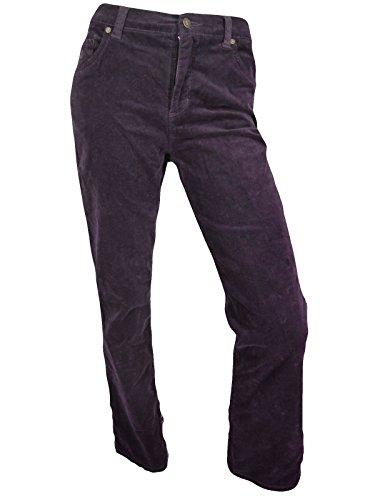 Gloria Vanderbilt Woman's Plus Size Classic Fit Amanda Corduroy Pants - 26W Short,  Rum Raisin