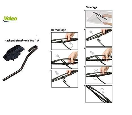 Limpiaparabrisas VALEO Compact 530/450 576013 Val Val hojas de repuesto para Original un juego - bd576013valx039: Amazon.es: Coche y moto