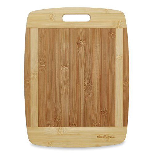 Kitchen Active 13x10-Inch Bamboo Cutting Board with One Handed Handle (Butcher Block Buffet compare prices)