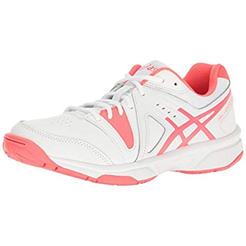 ASICS Women's Gel-Gamepoint Tennis Shoe White/Diva Pink 5.5 M US
