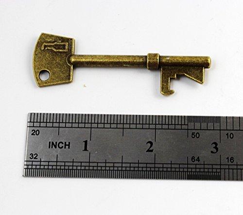 skeleton keychain bottle opener - 5