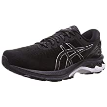 Asics Gel-Kayano 27, Sneaker Mens, Black/Pure Silver, 46 EU