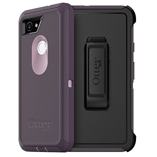 OtterBox Defender Series Case for Google Pixel 2 XL - Retail Packaging - Purple Nebula (Winsome Orchid/Night Purple)