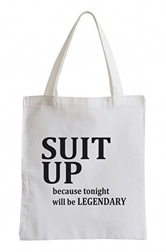 Suit Up Barney How i met your MotherFun Party Clubwear USA Jutebeutel